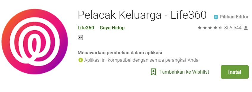 Aplikasi Android Pelacak Lokasi Orang Terdekat