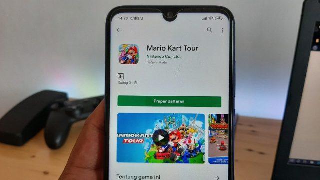 Prapendaftaran Mario Kart Tour