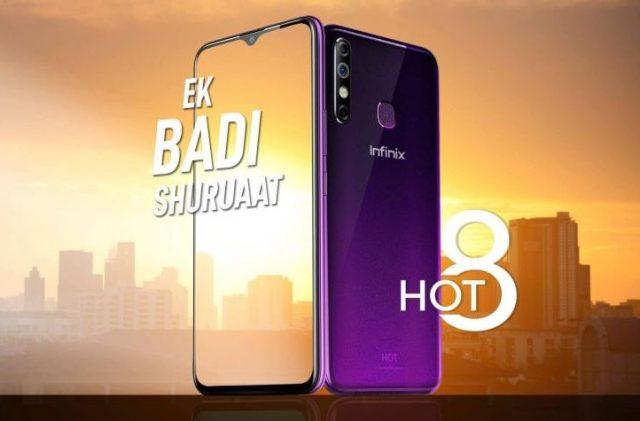 Infinix Hot 8 Resmi Masuk Indonesia