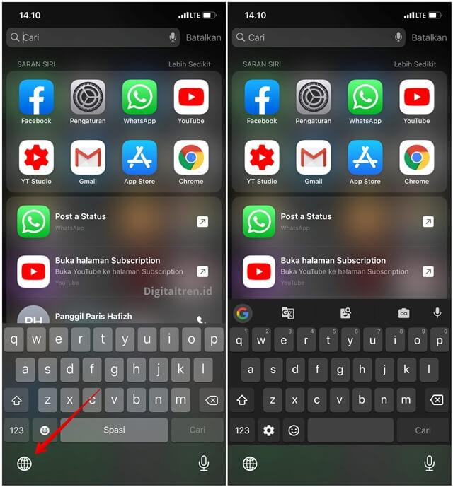 Cara Menggunakan Gboard di iPhone