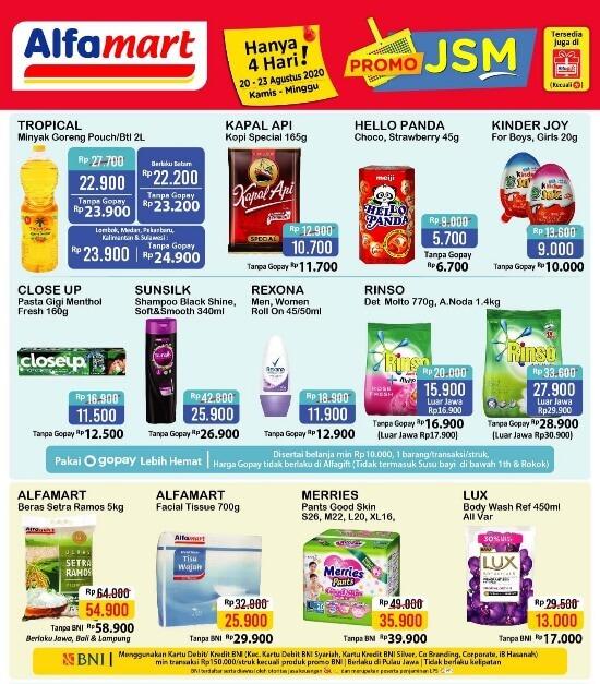 Katalog Jsm Alfamart Promo Hanya 3 Hari 17 19 Juli 2020